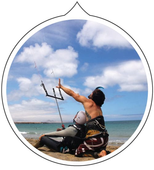 basic kitesurf course